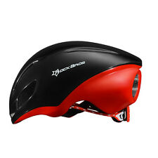 RockBros Aero Cycling Helmet Road Bike TT Triathlon Cyclocross Helmets Black Red