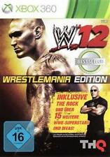 XBOX 360 WWE 12 WrestleMania Edition tedesco come nuovo
