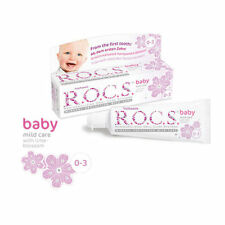 ROCS R.O.C.S. BABY Mild Care Toothpaste with Lime Blossom 45ml 1.6 fl oz