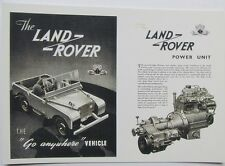 Pack of 15 New Vintage Ad Gallery Postcards – Series 1 80'' Landrover