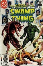 The Saga of the Swamp Thing  Vol.1 No.4 August 1982 DC Comics printed in USA