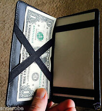 "Presto MAGIC LEATHER ""jacobs-Ladder"" WALLET/BILLFOLD For CARDs/Bills! Cricket"