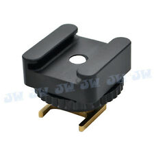 Mini Advanced shoe Cold Shoe Mount Adapter For Canon VIXIA HF M300 S100 S200 S11