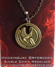 Hunger Games Mockingjay Gyroscope Necklace- Carded- FREE S&H (HGJW-57)
