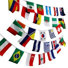 """New 50pcs 8""""x12"""" World Flag Combo Hanging National Country Olympic Games Sports"""