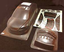 RC 1 10 Car 190mm Unpainted Clear Body Shell FORD FOCUS fits Tamiya Yokomo HPI