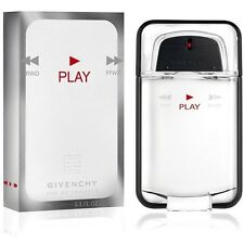 PLAY by GIVENCHY for Men 3.4 / 3.3 oz EDT Spray NEW IN BOX