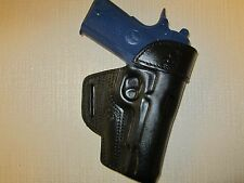 """BRAIDS HOLSTERS, Fits 1911 with 4.25"""" & 4"""" barrels, leather owb belt holster"""
