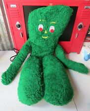 Gumby Large Vintage Plush Doll Shaggy