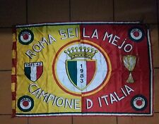 AS ROMA CAMPIONE D'ITALIA 1983 BANDIERA- FLAG