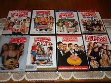 American Pie: 8 Unrated Widescreen Film 9 DVD Collection 1 2 3 4 5 6 7 8