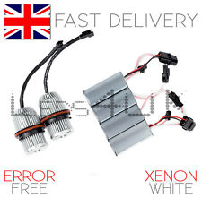 XENON WHITE BMW LED Angel Eyes Marker Upgrade Lampadine 25W E39 E60 E61 E65 X5