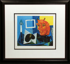 "Pablo Picasso ""Still Life with Red Headed Minotaur"" Ltd Edition Estate Giclee"