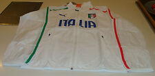 2014 Team Italy World Cup Soccer Football Walk Out On Field Jacket Large Puma
