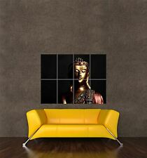 POSTER PRINT GIANT PHOTO CULTURE BUDDHA STATUE GOLD LIFESTYLE PEACE CALM PAMP216