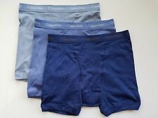 Calvin Klein Boxer Briefs - X Large - Blue three shades - 3 Briefs