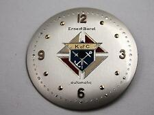 Ernest Borel K of C Vintage Mens Watch Dial Pearl Automatic 27.87mm Gold Markers