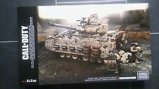 Mega Bloks Call of Duty Desert Tank Collector Series Set, new and sealed.