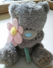 """4 inch """"Me To You"""" Tatty Teddy Bear holding Pink Flower"""
