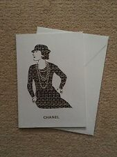 Coco Chanel Pearl And Tweed Card VIP Authentic With Matching Envelope