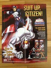 Marvel Heroclix Armor Wars ,2005 Promo Poster , Captain America , Ultron