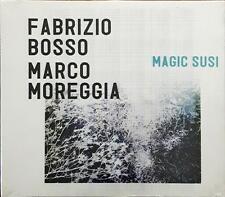 Fabrizio Bosso Marco Moreggia Magic Susu Slimpack Cd Sigillato