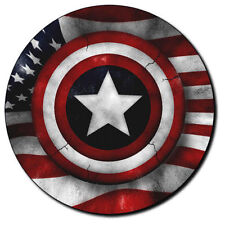 Parche imprimido, Iron on patch /Textil Sticker/ - Captain America, Capitan, B