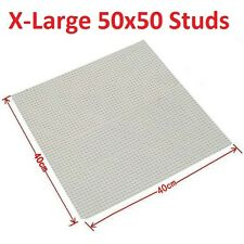 X-Large 50 x 50 Studs 40cm BASE PLATE Compatible with Brands Construction Blocks