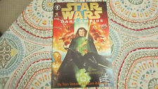 STAR WARS DARK EMPIRE 6 COMIC signed Dave Dorman and Cam Kennedy gold foil