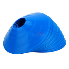 NEW 50 Blue SPEED DISC CONE Sports Safety Soccer Football Cross Training Track