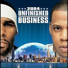 FREE US SH (int'l sh=$0-$3) NEW CD Jay-Z & R Kelly: Unfinished Business (Clean)