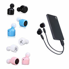 TWS Twins True Mini Bluetooth Wireless Stereo Earphones Headset In-Ear Headphone