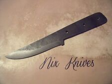 NIX KNIVES BUSHCRAFT HAND FORGED CAMP HUNTING SKINNING KNIFE BLADE BLANK
