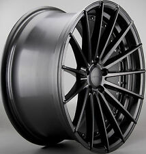4X 20 INCH 209 2010 HOLDEN VE VF FORD BF FG F6 XR8 BF CONCAVE MATTE BLK