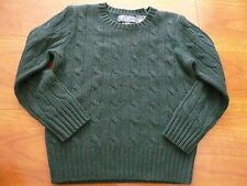 NWT $225 POLO RALPH LAUREN 100% CASHMERE SWEATER SZ 4/4T