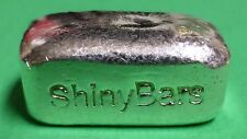 1 oz .999 fine silver hand poured art bar BREAD LOAF SHINY BAR great gift