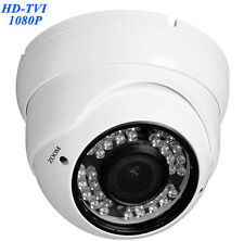 HD TVI 1080P Dome Camera 2.4MP HDTVI Sony CMOS, Varifocal 2.8-12mm 36 IR 4 in 1