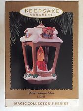 Vintage 1996 Chris Mouse Inn Hallmark Ornament QLX7371 12th in the Series Light