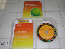 Microsoft MS Office 2010 Home and Student Family Pack For 3PCs x3=BRAND NEW BOX=