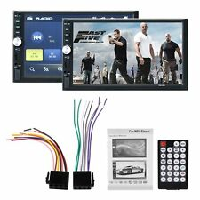 "7"" HD Double DIN Car Stereo In Dash MP3 Player AUX USB FM Radio HeadUnit"