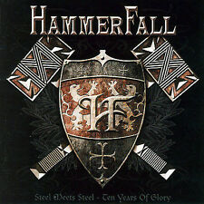 Hammerfall Steel Meets Steel - Ten Years Of Glory: Best Of CD