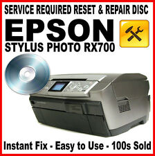 Epson Stylus Photo Rx700 Reset Disco: culpa Fix, luz intermitente solución
