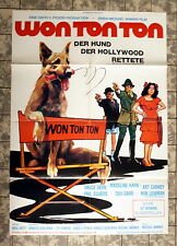 WON TON TON - Hund der Hollywood rettete * A1-FILMPOSTER - German 1-Sheet ´77