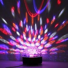 FREESHIP: RGB Party/Disco magic ball with USB music player