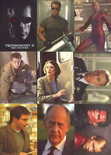 TERMINATOR 3 RISE OF THE MACHINES MOVIE 2003 COMIC IMAGES BASE CARD SET OF 72
