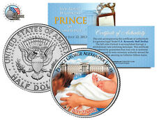 ROYAL BABY *PRINCE GEORGE of CAMBRIDGE* BORN JULY 22, 2013 JFK HALF DOLLAR COIN!