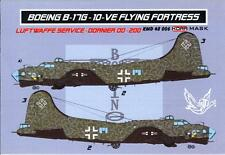 KORA Models PAINT MASKS 1/48 BOEING B-17G FLYING FORTRESS IN LUFTWAFFE SERVICE