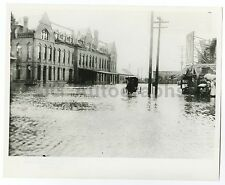 Nebraska History - Vintage 8x10 Publication Photograph - 1908 Lincoln Flood