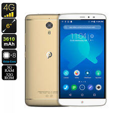 Android Smartphone - 6 Inch WQHD Display, Octa Core 2.26GHz CPU, 3GB RAM, 4G