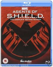 AGENTS OF SHIELD COMPLETE SERIES 2 BLU RAY All Episodes Second 2nd Season NEW UK